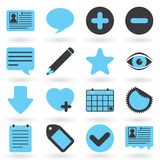Internet Icons Series: Blog Royalty Free Stock Image