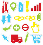Internet icons wrench Royalty Free Stock Photos
