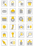 internet icons01 Arkivbild