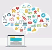 Internet Idea Concept Design Stock Image