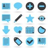 Internet-Ikonen-Serie: Blog Lizenzfreies Stockbild