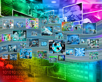 Internet images Stock Photos