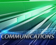 Internet information communication background Stock Photos