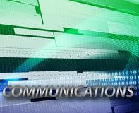 Internet information communication background Royalty Free Stock Photo