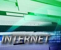 Internet information communication background Royalty Free Stock Image