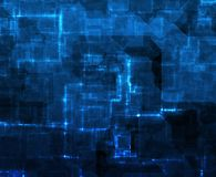 Internet Information Grid Abstract Stock Image