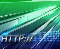 Internet information http background Royalty Free Stock Images
