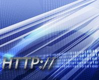 Internet information http background Stock Photo