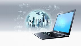 Internet Information Technology Concept Royalty Free Stock Images