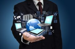 Internet information technology concept Royalty Free Stock Photo