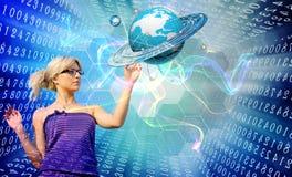 Internet innovatore Immagini Stock Libere da Diritti