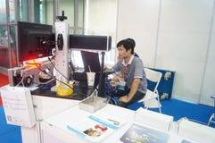Internet internacional de Shenzhen de cosas y la sabiduría de la expo de China Fotos de archivo