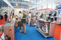 Internet internacional de Shenzhen de cosas y la sabiduría de la expo de China Foto de archivo libre de regalías