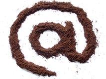 Internet-Kaffee stockbilder