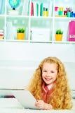 Internet kid Royalty Free Stock Photo