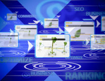 Internet-Klassifizierung lizenzfreie stockfotos