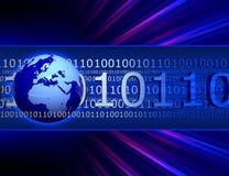 Internet-Kommunikation Lizenzfreies Stockbild