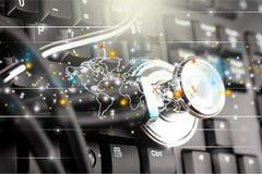Internet-Kommunikationen Lizenzfreies Stockbild