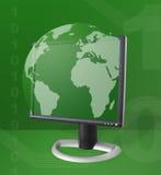 Internet-Kommunikations-Thema Lizenzfreie Stockfotos