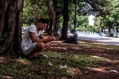 Internet komt aan Cuba aan Royalty-vrije Stock Fotografie