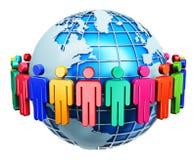 Internet-Konzept der globalen Kommunikation Lizenzfreies Stockfoto