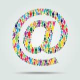 Internet-Konzeptdesign lizenzfreie abbildung