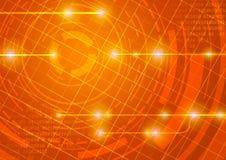 Internet layout background - energy Royalty Free Stock Images