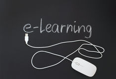 Internet learning Stock Images