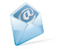Internet letter Royalty Free Stock Photos
