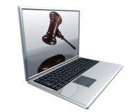 internet licytacji Zdjęcie Stock