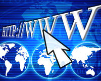 Internet link Royalty Free Stock Images