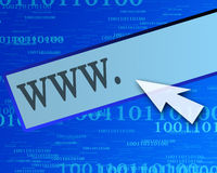 Internet link Stock Photos