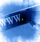 Internet link Stock Photo