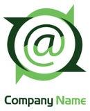 Internet logo Royalty Free Stock Photography