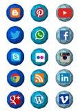 Internet logo Stock Photography