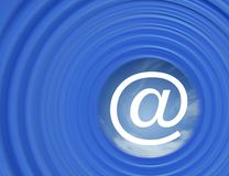 Internet mail Royalty Free Stock Image