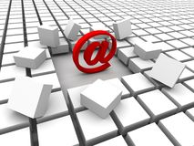 INTERNET & MAIL Royalty Free Stock Photos