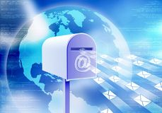 Internet Mail Concept Royalty Free Stock Photos