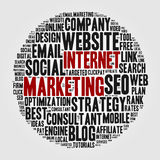 Internet marketing. Stock Photo