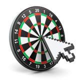 Internet marketing concept Stock Images