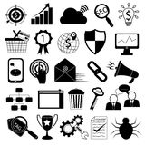 Internet Marketing Icons:SEO Tools Stock Photos