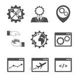 Internet marketing icons Stock Image
