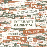 INTERNET MARKETING Stock Images