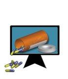 Internet Medicine Stock Images