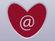internet miłość Obrazy Royalty Free