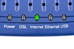 Internet modem Stock Photography
