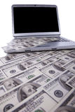 Internet money Royalty Free Stock Image