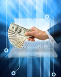 Internet Money Business Computer stock images