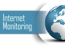 Internet Monitoring royalty free illustration