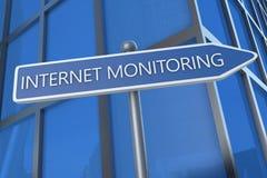 Internet Monitoring Stock Image